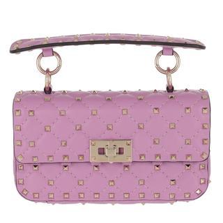 Cross Body Bags - Rockstud Spike Crossbody Bag Small Giacinto in roze voor dames - Gr. Small