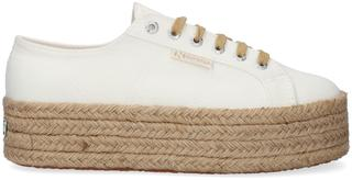 Witte Lage Sneakers 2790 Drill Denim Rope
