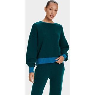Renata Cashmere Truien voor Dames in Turquoise