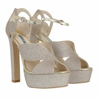 Pumps & high heels - Rita Platform Sandal in goud voor dames