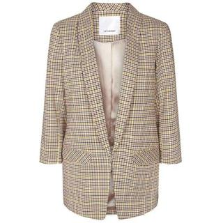 Dames Blazers in Polyester (Geel)