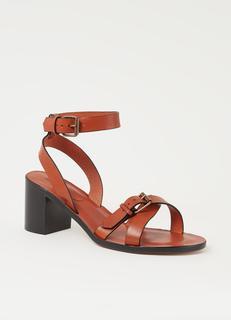 Cathalya sandalette van kalfsleer