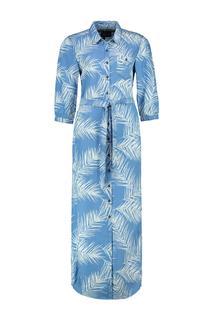 Elyana jurk lichtblauw denim