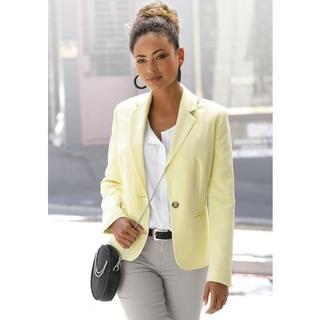 Korte blazer in klassieke vorm