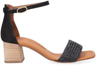 Zwarte Sandalen 7788