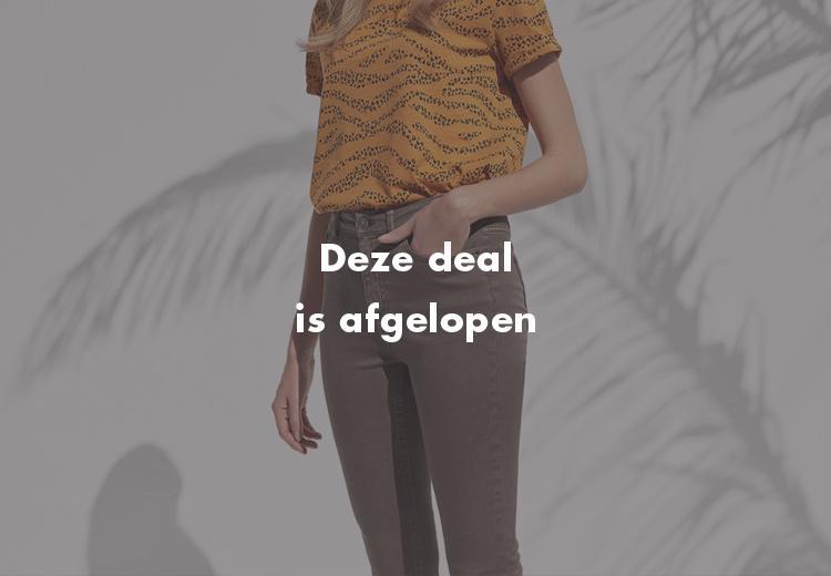 Scoor je 2e broek met 50% korting bij WE Fashion