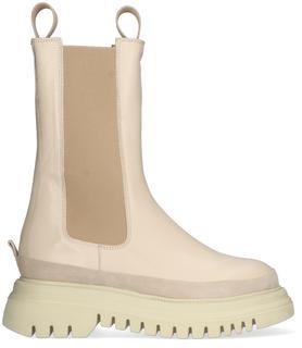 Beige Chelsea Boots 01000