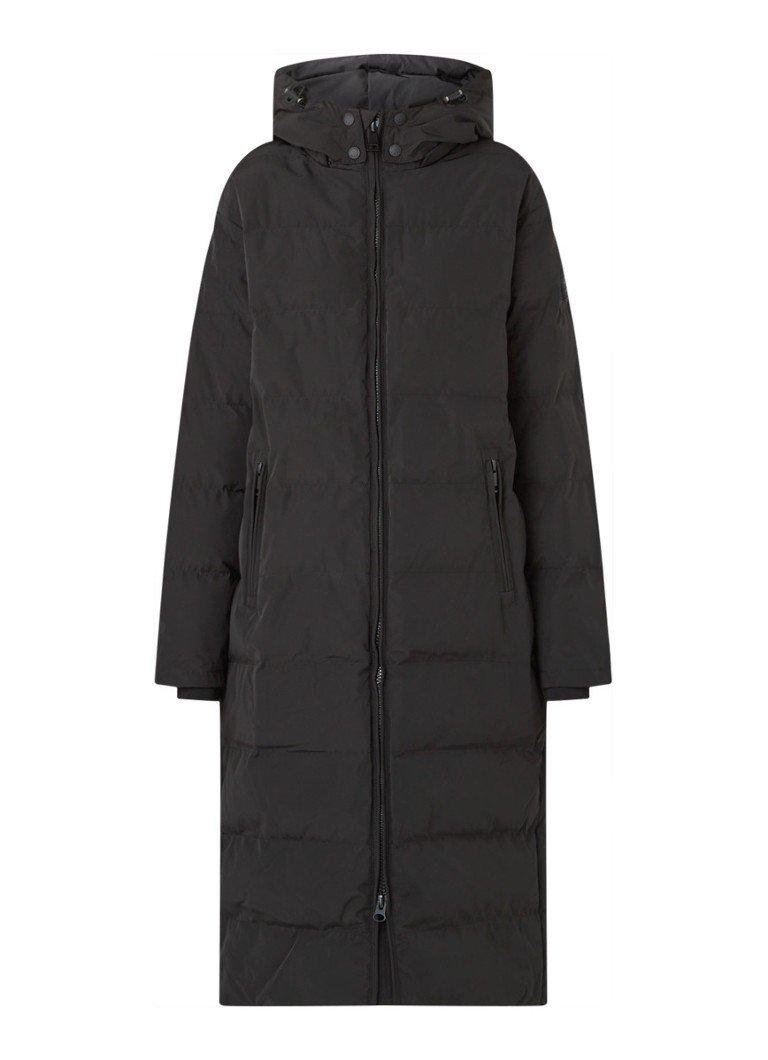 Zwarte gewatteerde jassen online kopen   Fashionchick.nl