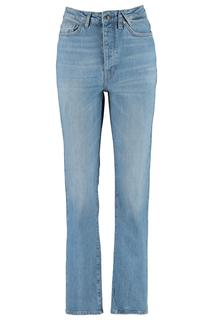Dames Straight Fit Jeans Mila Blauw