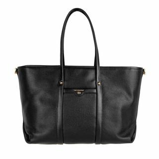 Totes - Large Tote Leather in black voor dames