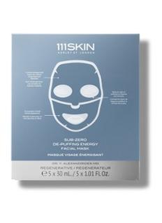 Sub-Zero De-Puffing Energy Facial Mask - gezichtsmasker 5 stuks