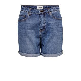 high waist jeans short ONLPHINE blauw