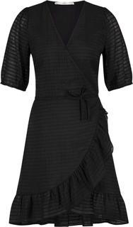 Briggit wrapp dress black