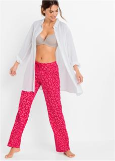 Dames pyjamabroek in rood
