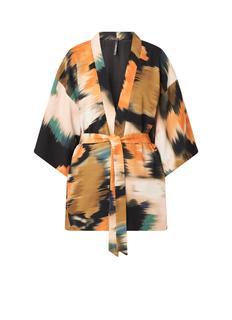 Agnes kimono met print