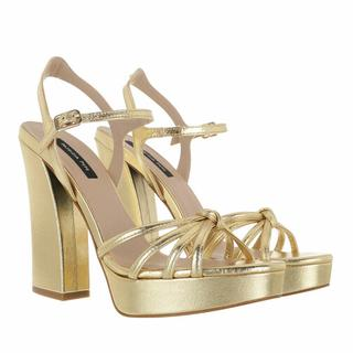 Pumps & high heels - Sandal in goud voor dames