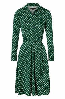 60s Sheeva Pose Dress in Dragonfly Green