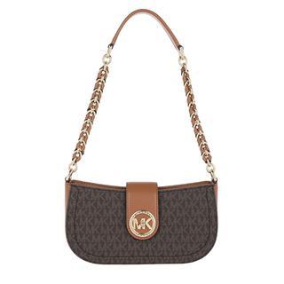Hobo Bags - Carmen XS Pouchette Brown Acorn in bruin voor dames - Gr. XS