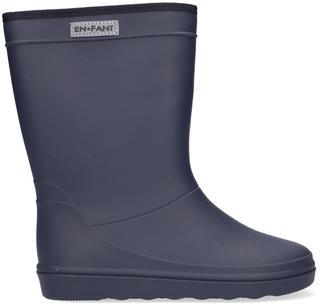 Blauwe Regenlaarzen Rubber Rain Boot Solid