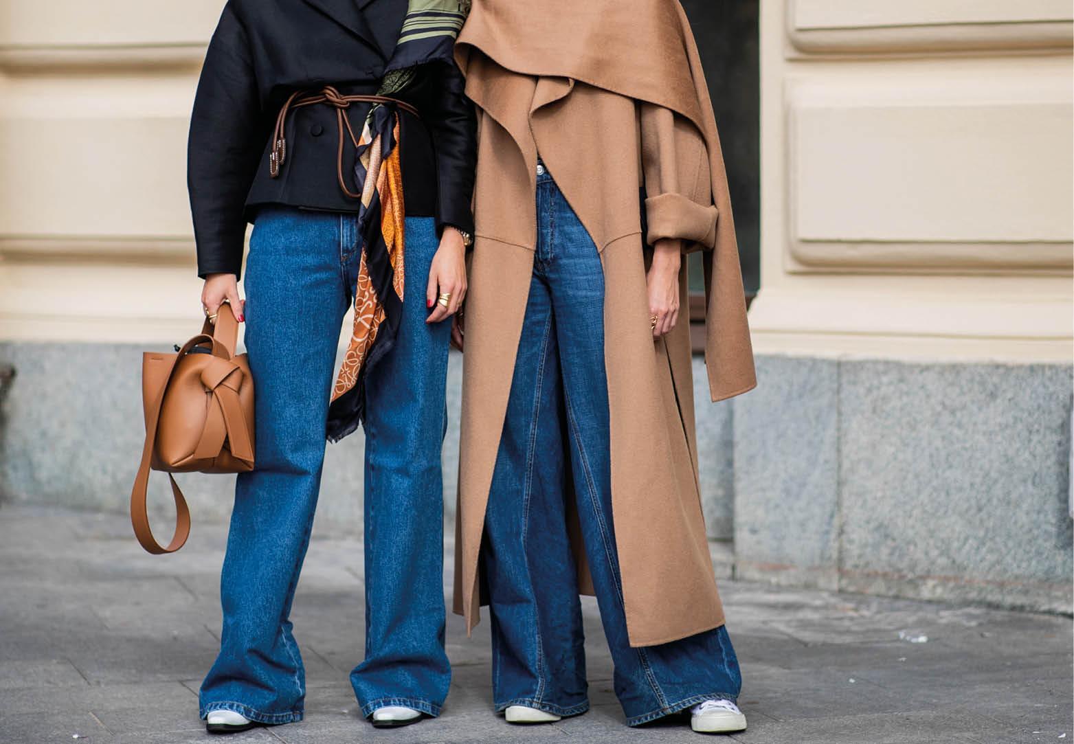 Doei skinny, hallo wijde high-waisted jeans!