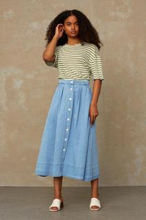 BENTEN skirt Female - Light Blue