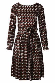 60s French Girl Dress in Black