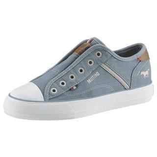 Slip-on sneakers met merk