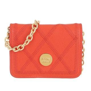 Crossbody bags - Roby Shoulder Crossbody Bag Leather in oranje voor dames