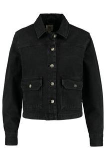 Dames Trucker Jacket Haya Zwart