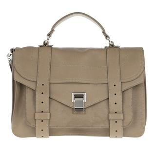 Satchels - PS1 Medium Crossbody Bag Lamb Leather in grijs voor dames