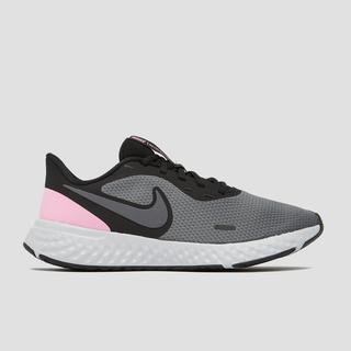 revolution 5 hardloopschoenen zwart/roze dames