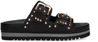 Zwarte Slippers 893z12hg