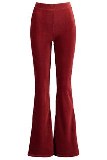 Dames Flared Pants Charly Rood