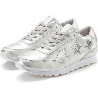 sneakers Met sterretjes en comfortabele binnenzool met sterretjes en comfortabele binnenzool