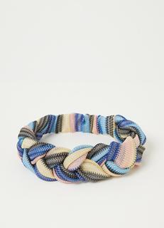 Braidia gevlochten haarband met kleurrijk detail