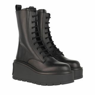 Boots & laarzen - V Logo High Combat Boots Leather in zwart voor dames