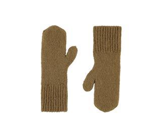 Knitted Mittens Beige