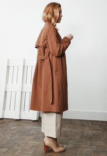 Julia Jas Beige Camel