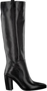 Zwarte Hoge Laarzen 02a-305