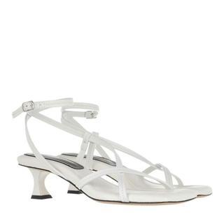 Sandalen - Heeled Sandals in beige voor dames