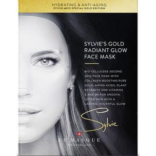 Sylvies Gold Radiant Glow Face Mask SYLVIE'S GOLD RADIANT GLOW FACE MASK
