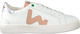 Witte Lage Sneakers Snik Wmn