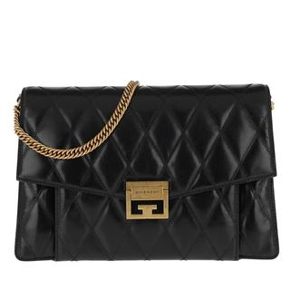 Satchel Bags - Medium GV3 Bag Leather Black in zwart voor dames - Gr. Medium