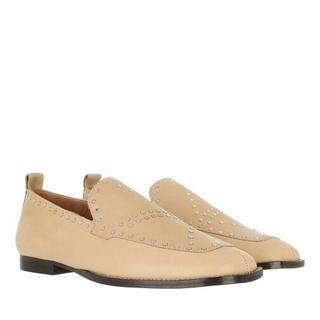 Loafers & ballerina schoenen - Faggie Loafers in beige voor dames