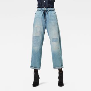 Lintell High Dad Jeans - Wide Fit - Taillehoogte Hoog