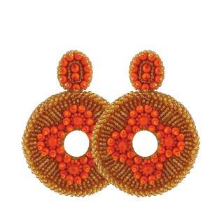Orange Big Beads