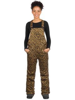 Loretta Bib Pants cheetah
