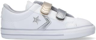 Witte Lage Sneakers Star Player 2v Metallic
