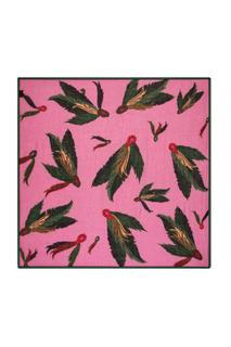 SHAWL - Festival Feathers Pink by Katja