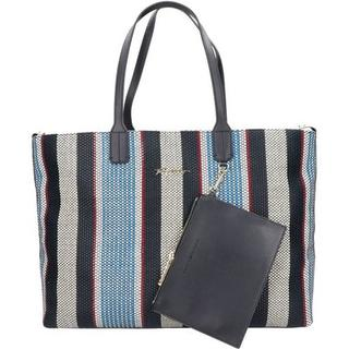 Stripes shopper